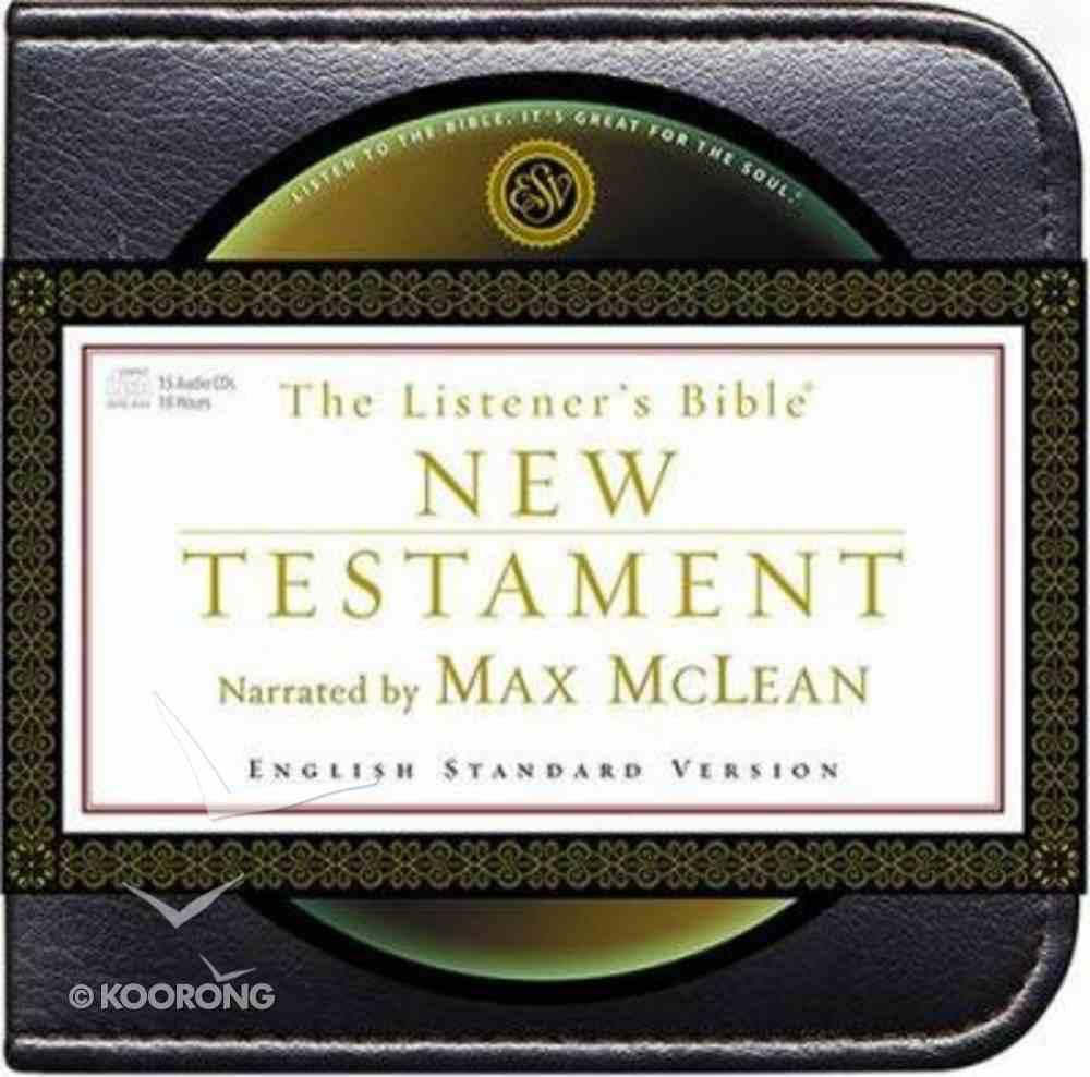 ESV Listener's Bible New Testament on Audio CD CD