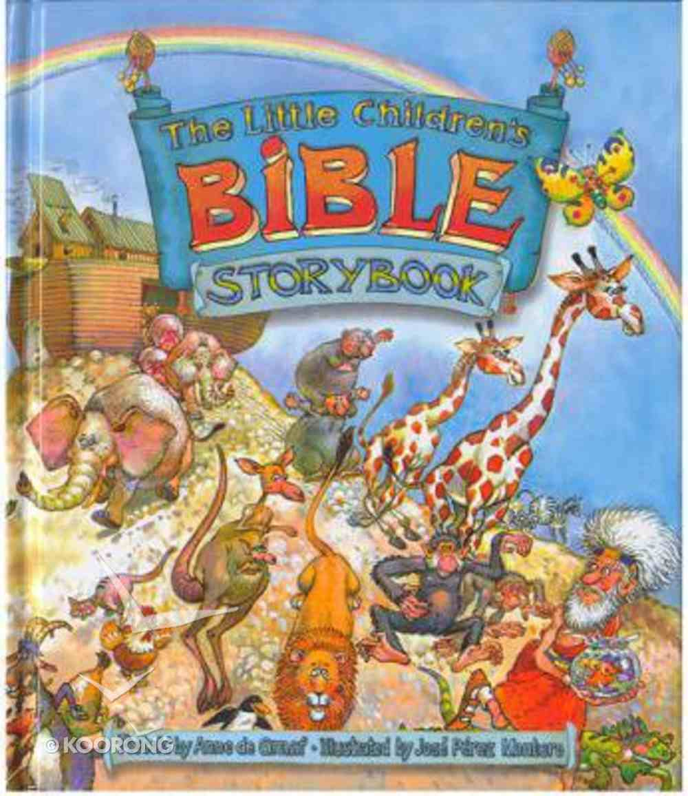 The Little Children's Bible Storybook Hardback