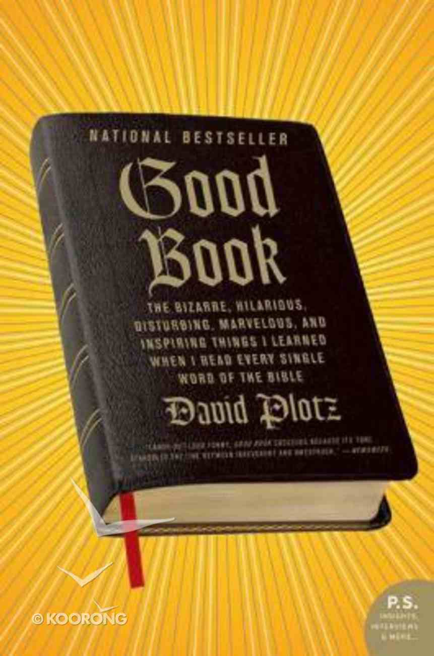 Good Book Paperback