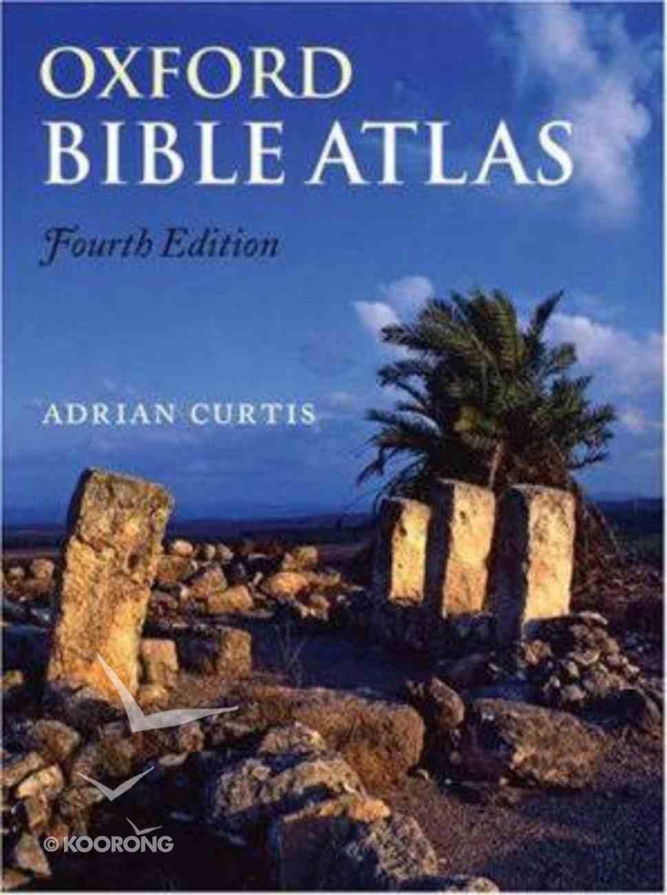 Oxford Bible Atlas (4th Edition) Hardback