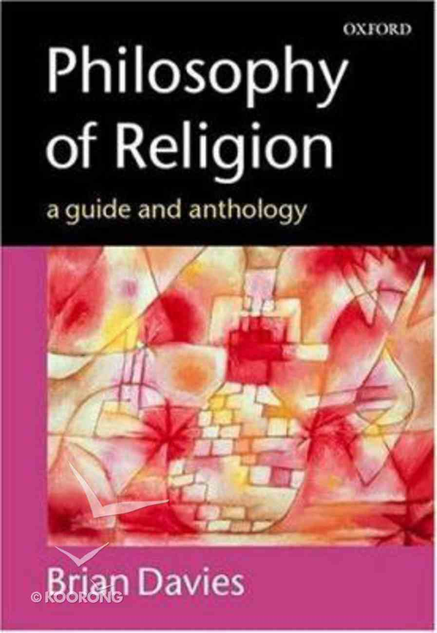 Philosophy of Religion Paperback