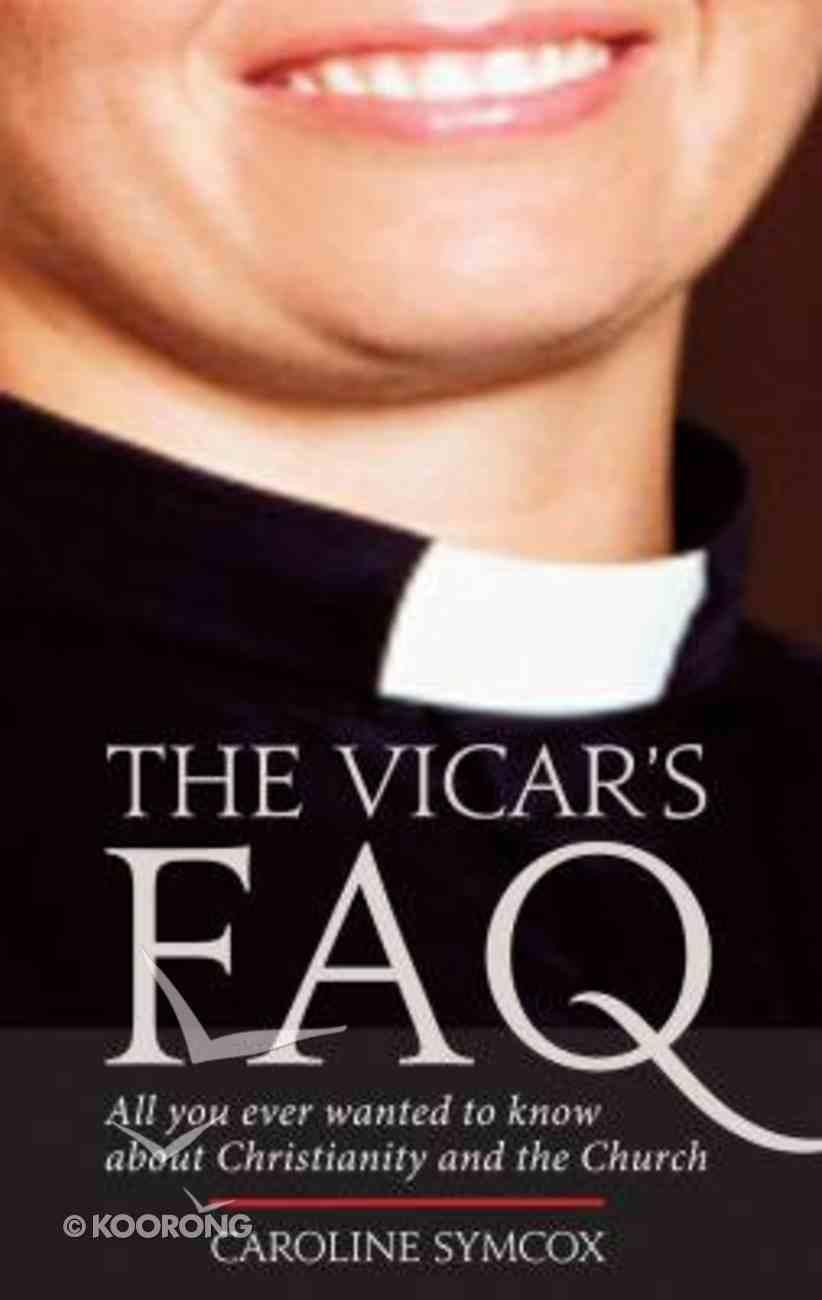 The Vicar's Faq Paperback