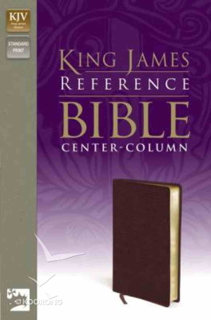KJV Reference Bible Burgundy (Red Letter Edition) Bonded Leather