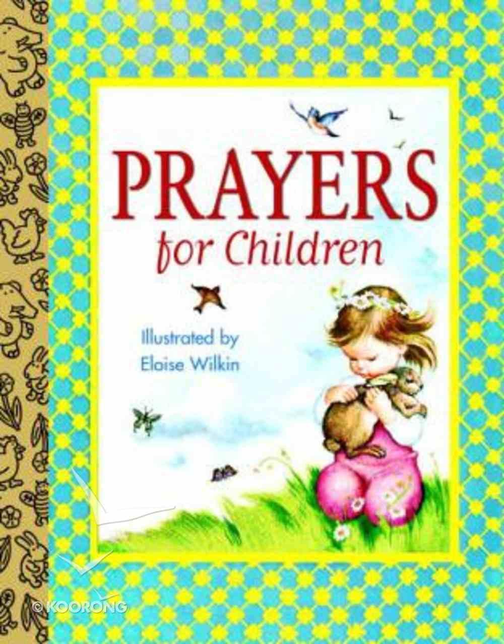 Prayers For Children (Golden Books Series) Board Book