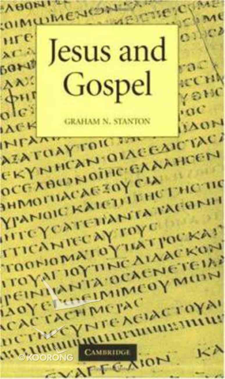 Jesus and Gospel Paperback