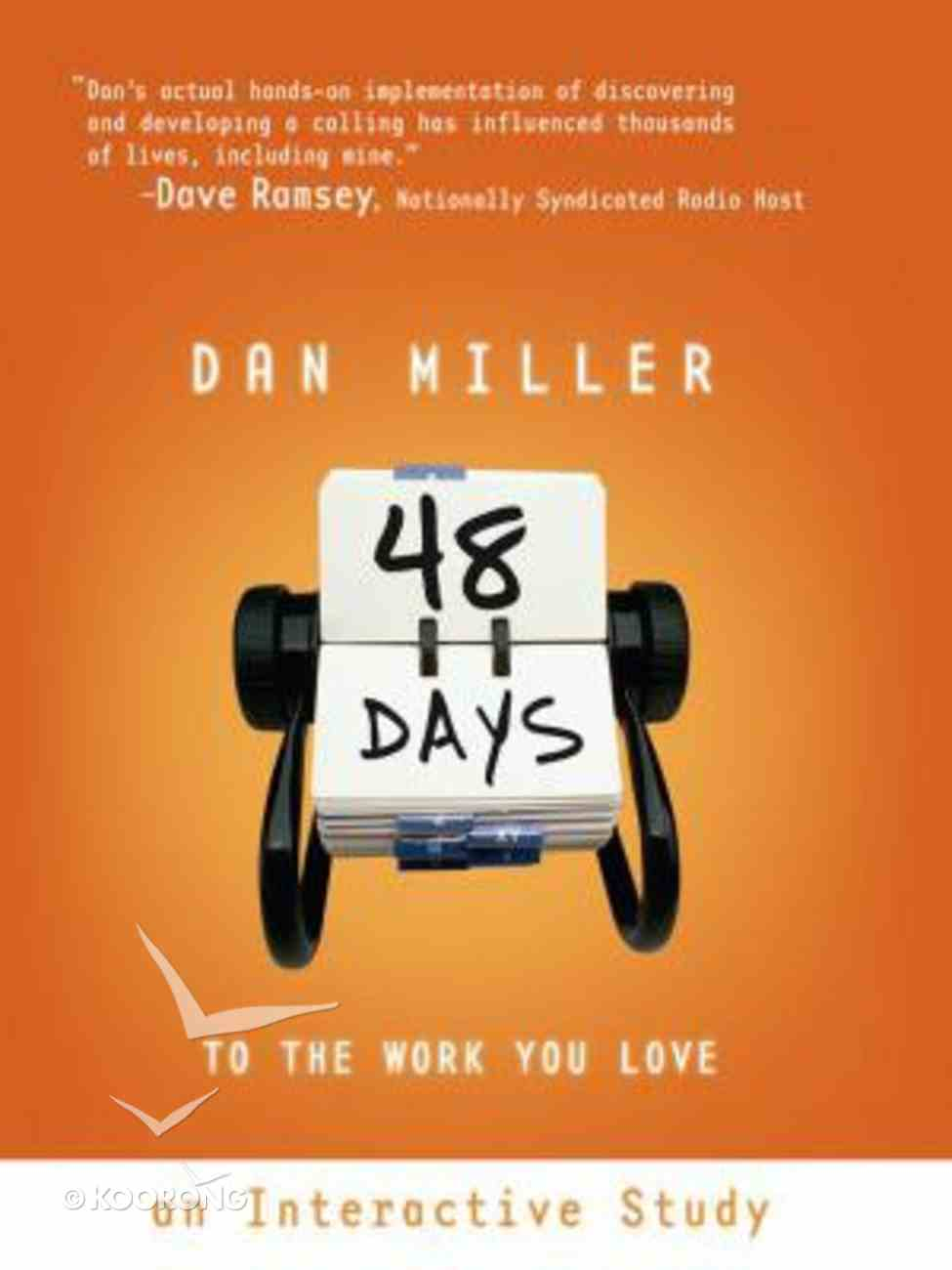 48 Days to the Work You Love (With 2 Cds) Paperback