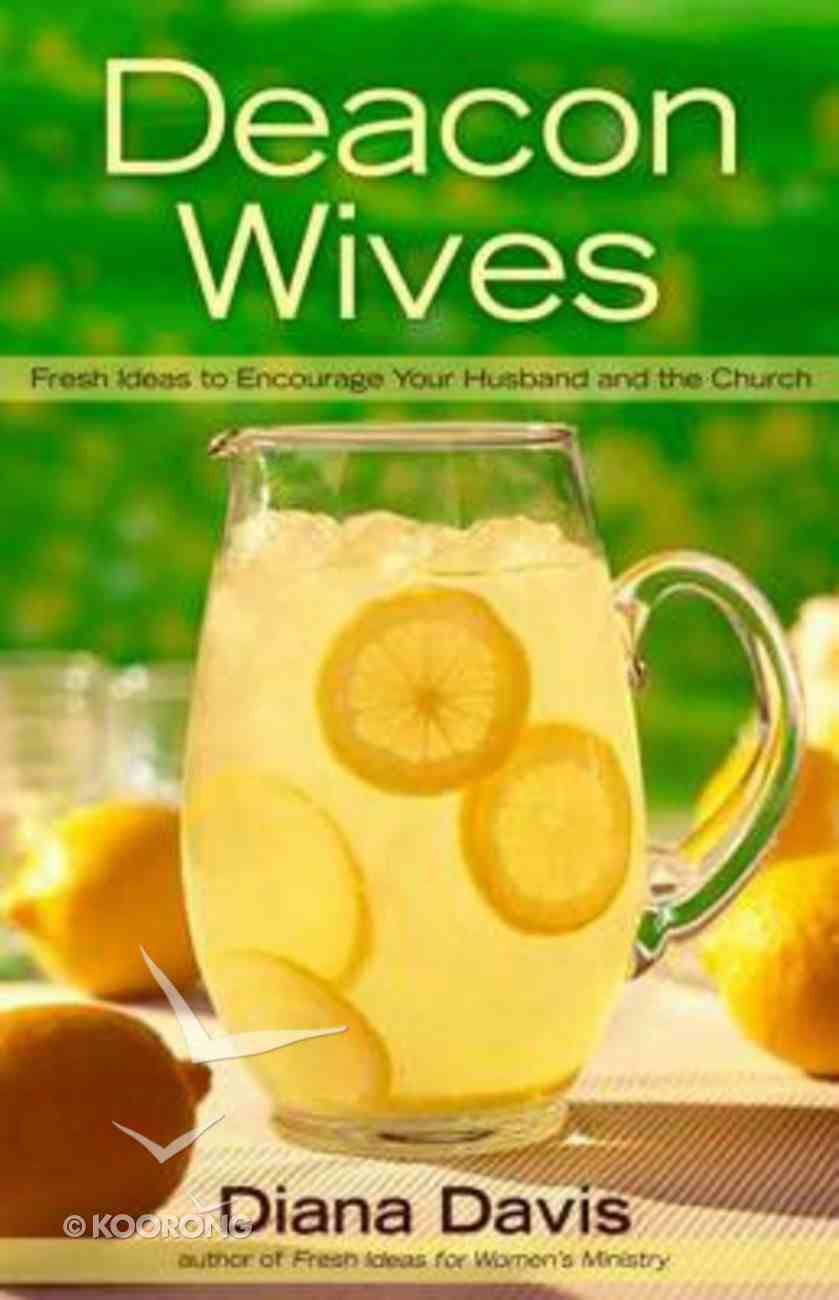 Deacon Wives Paperback