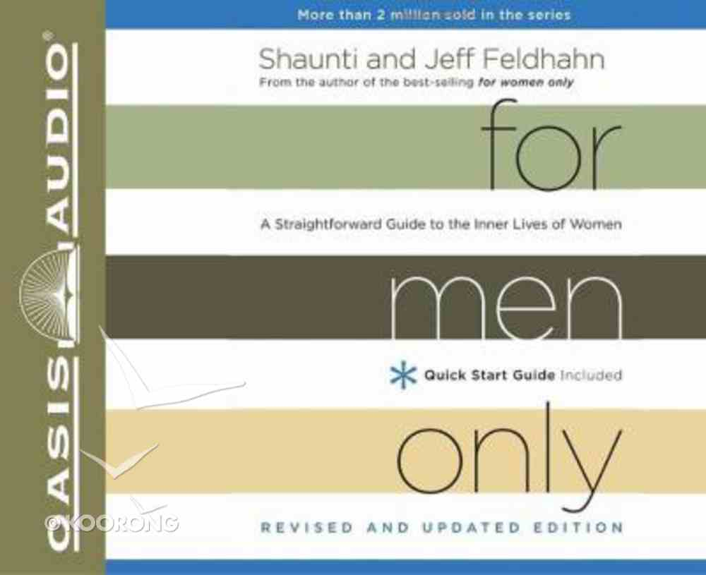 For Men Only, (Unabridged, 4 Cds) (And Edition) CD
