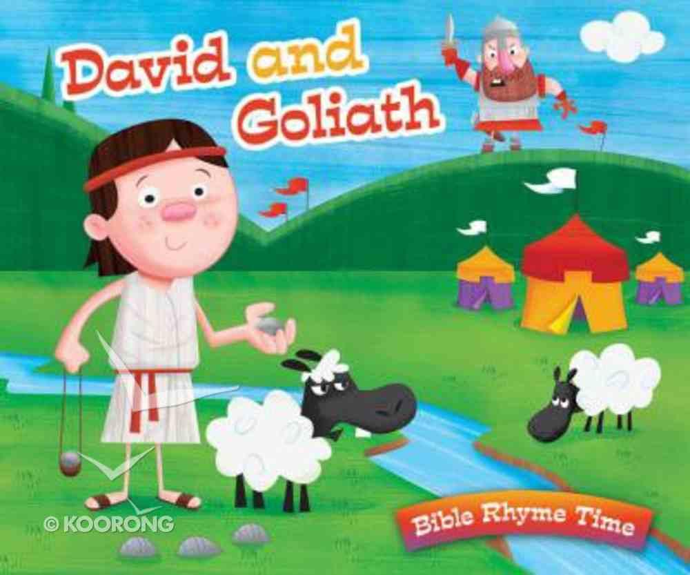 Bible Rhyme Time: David and Goliath Hardback