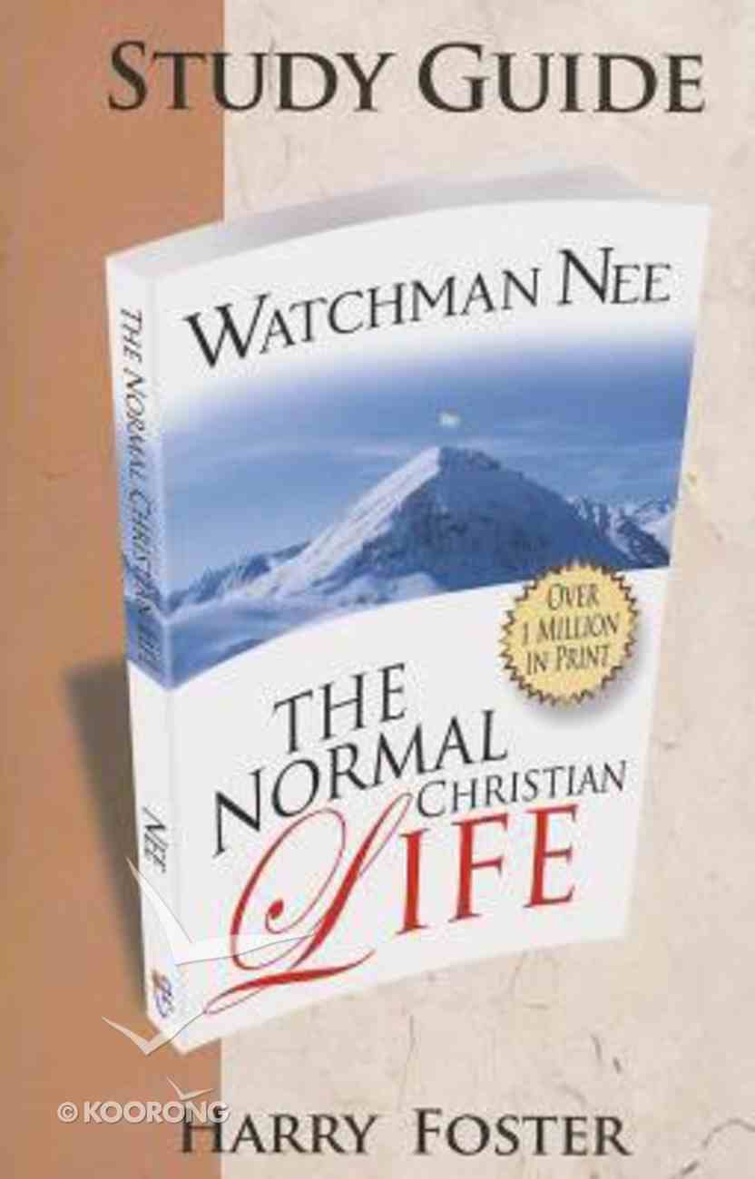 """A Study Guide For """"The Normal Christian Life"""" Paperback"""