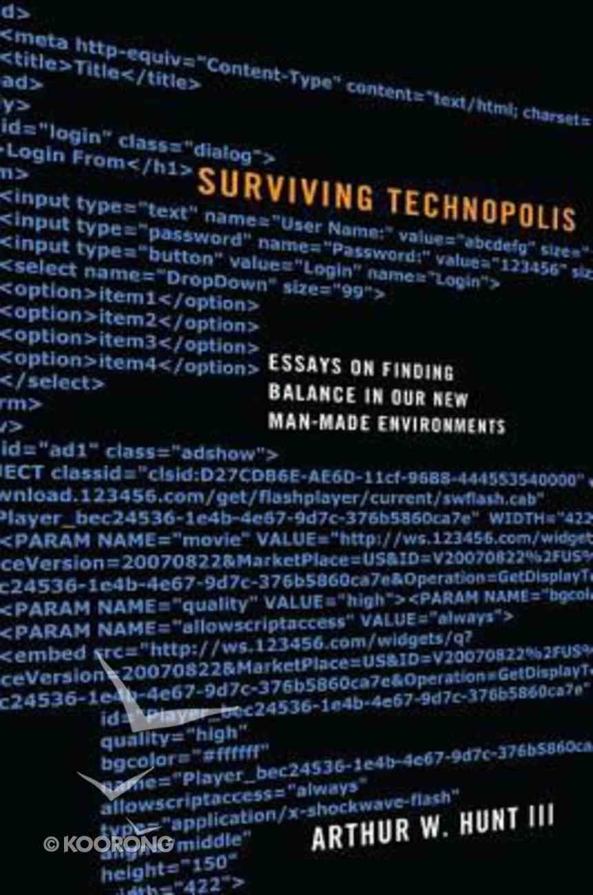 Surviving Technopolis Hardback