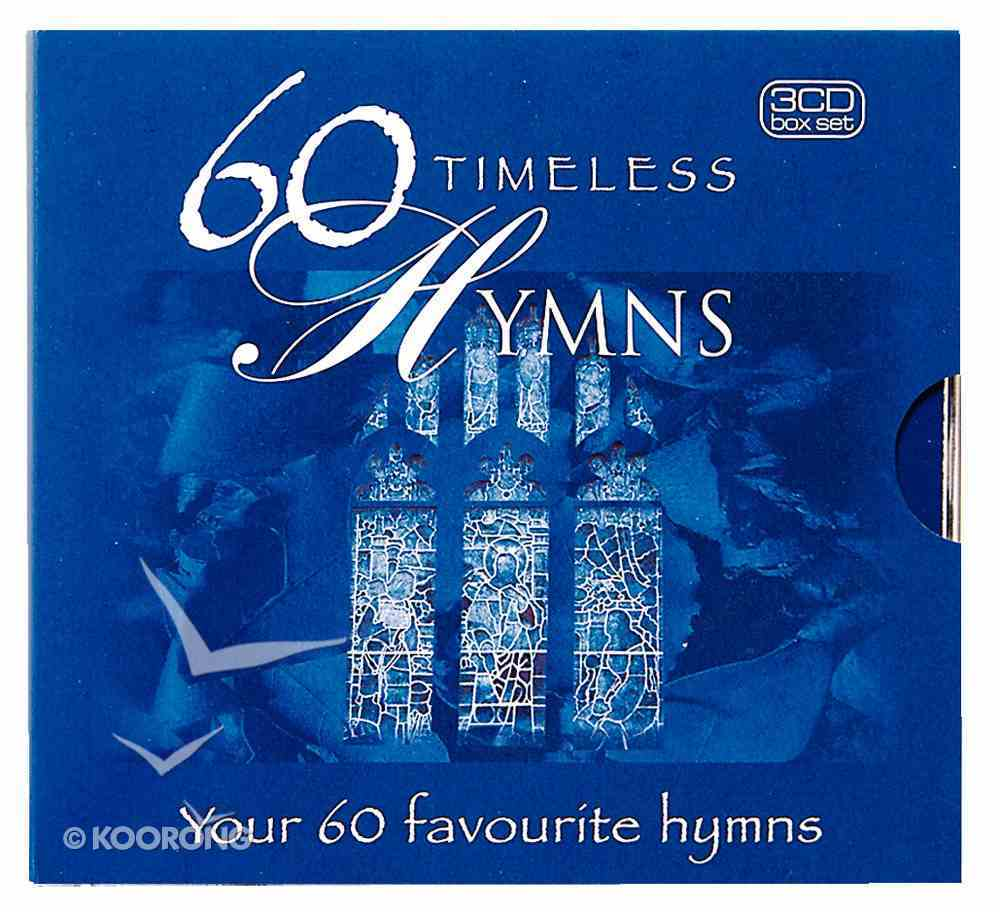 60 Timeless Hymns CD