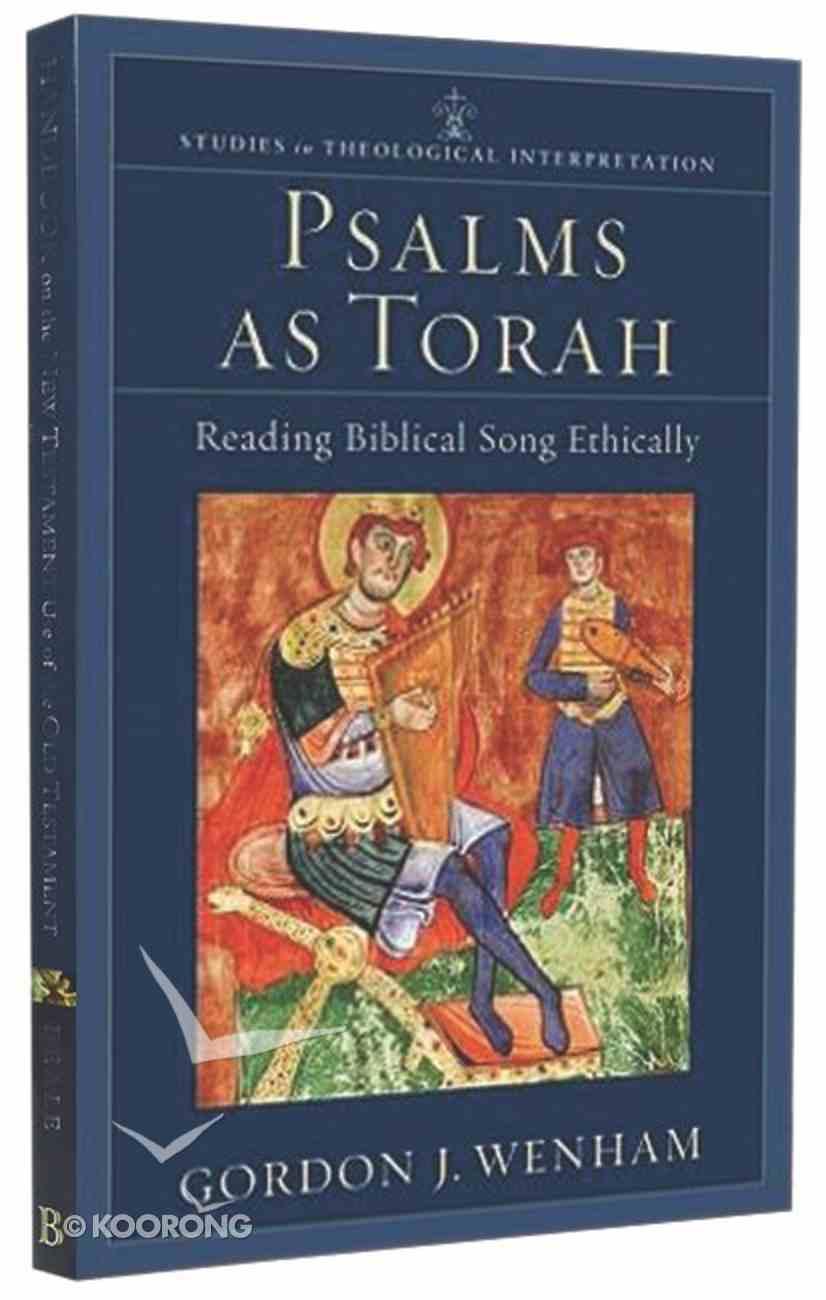 Psalms as Torah Paperback