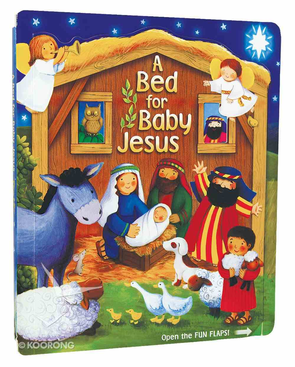 A Bed For Baby Jesus Board Book