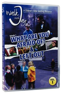 Product: Walk With Jay #01: What Are You Afraid Of & Left Out Dvd Image