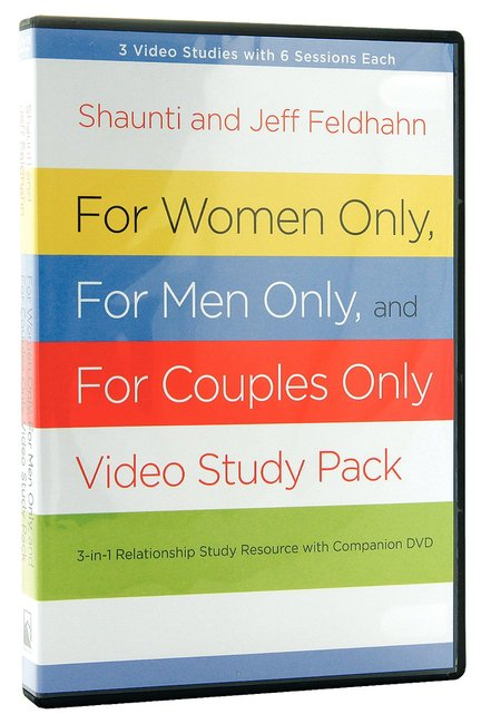 Product: For Women Only And For Men Only: Dvd And Participant's Guide (Pack) Image