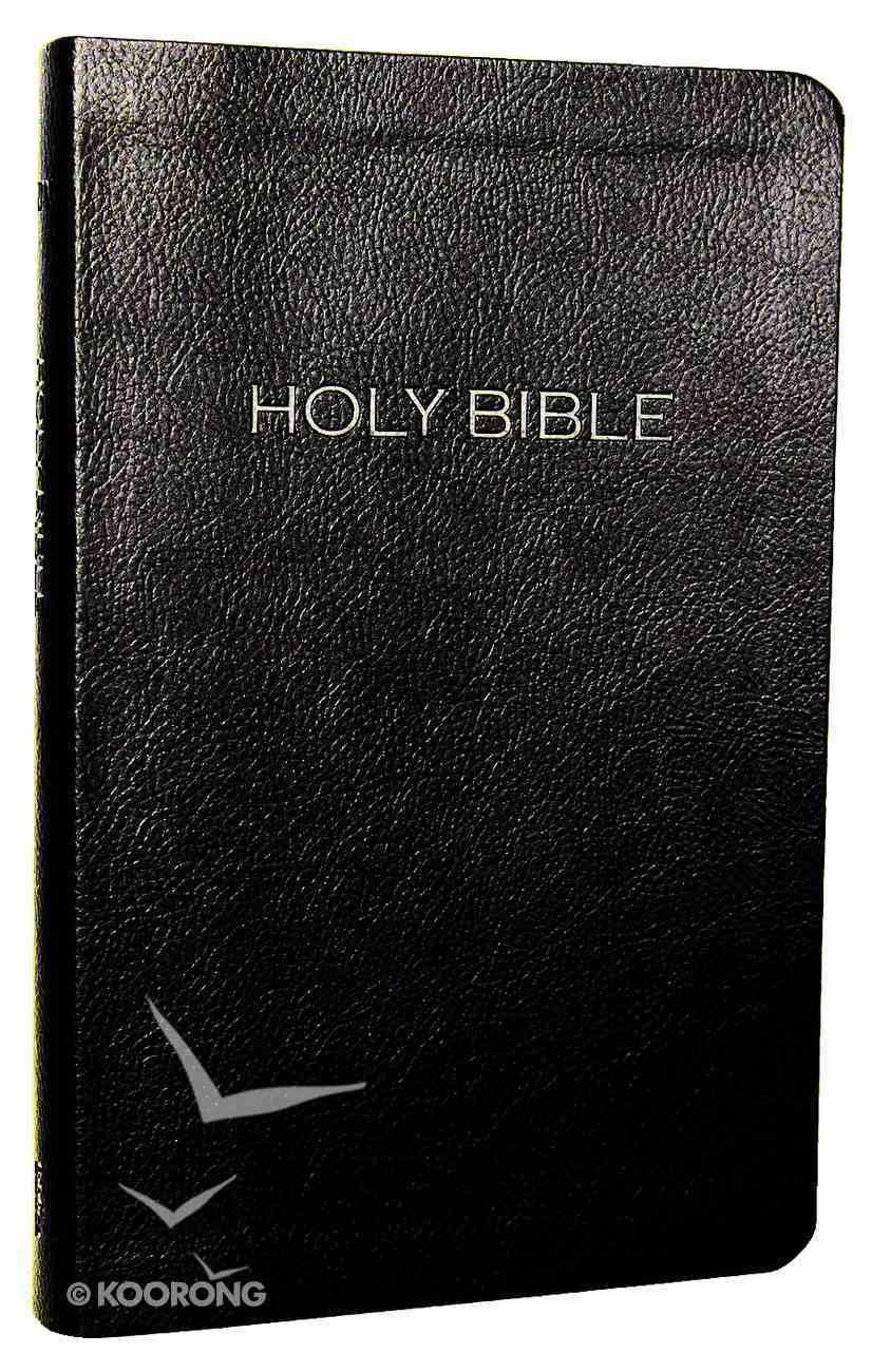 NIV Thinline Leatherlike Bible Black Imitation Leather
