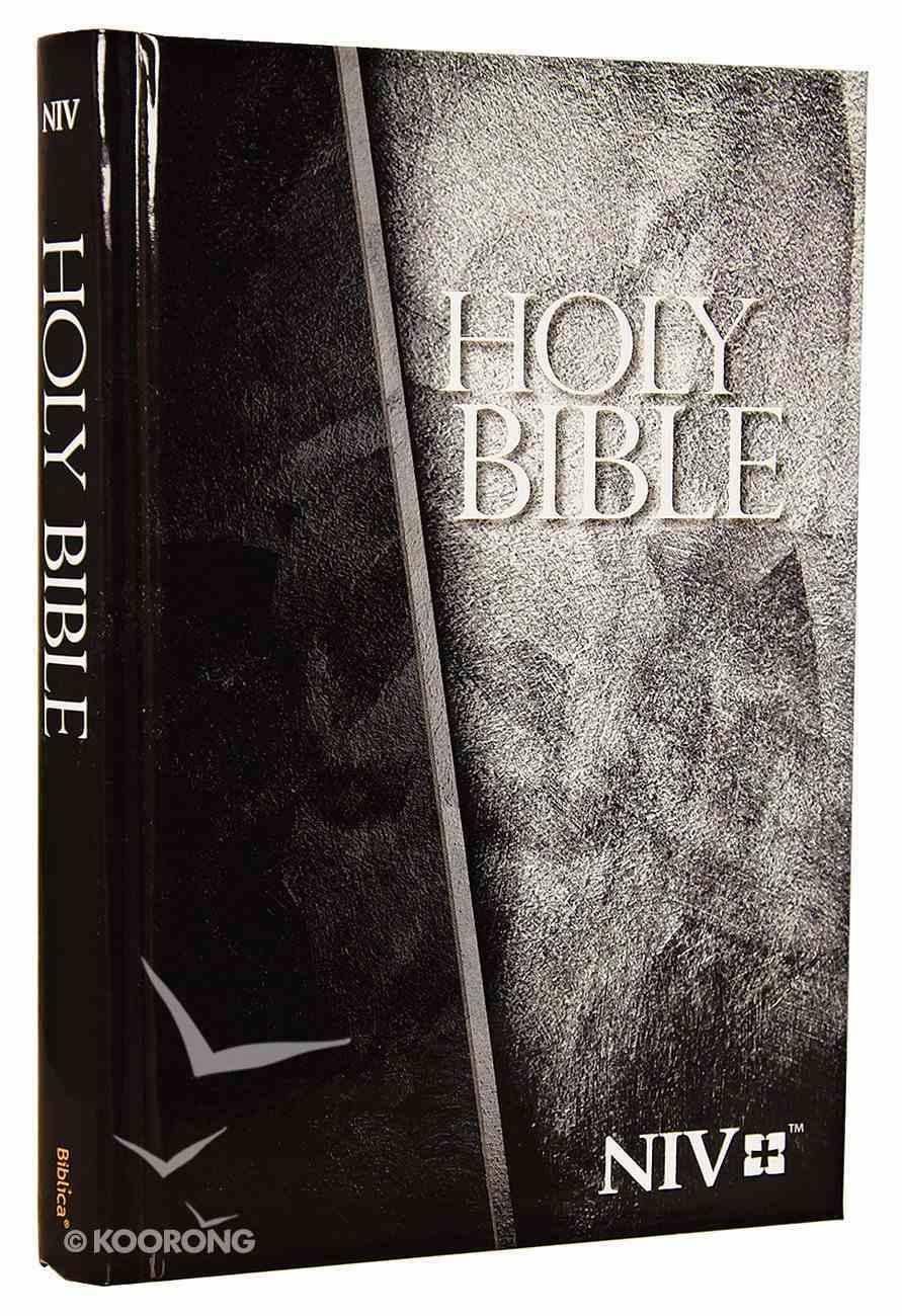 NIV Economy Bible Grey Hardback