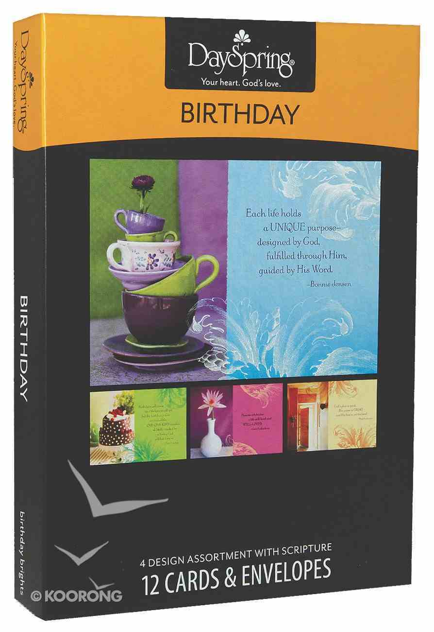 Boxed Cards Birthday: Birthday Brights Box