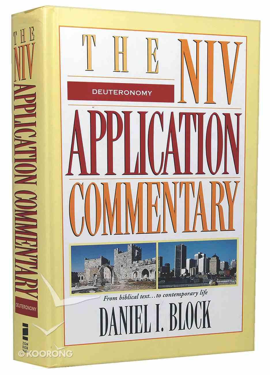 Deuteronomy (Niv Application Commentary Series) Hardback