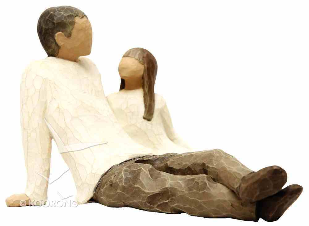 Willow Tree Figurine: Father and Daughter Homeware