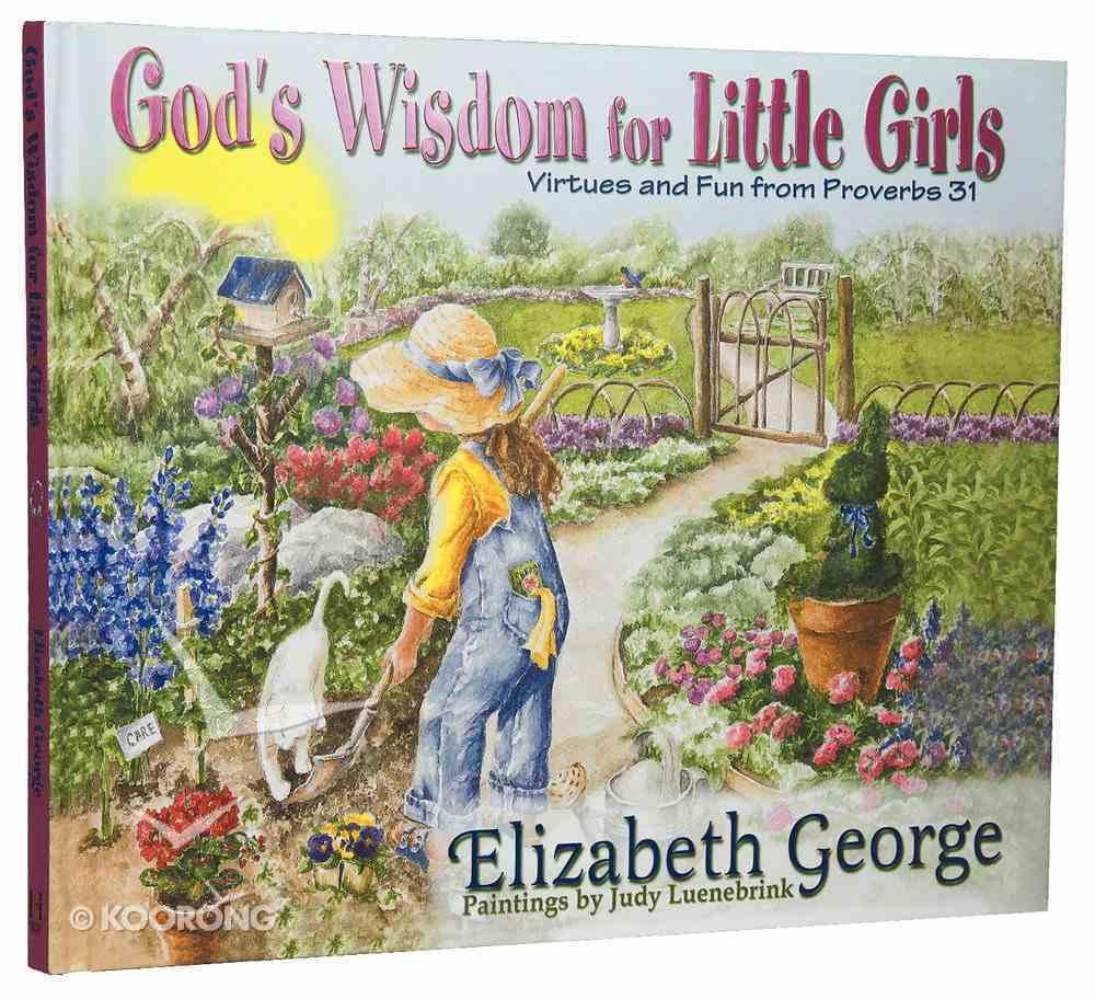 God's Wisdom For Little Girls Hardback