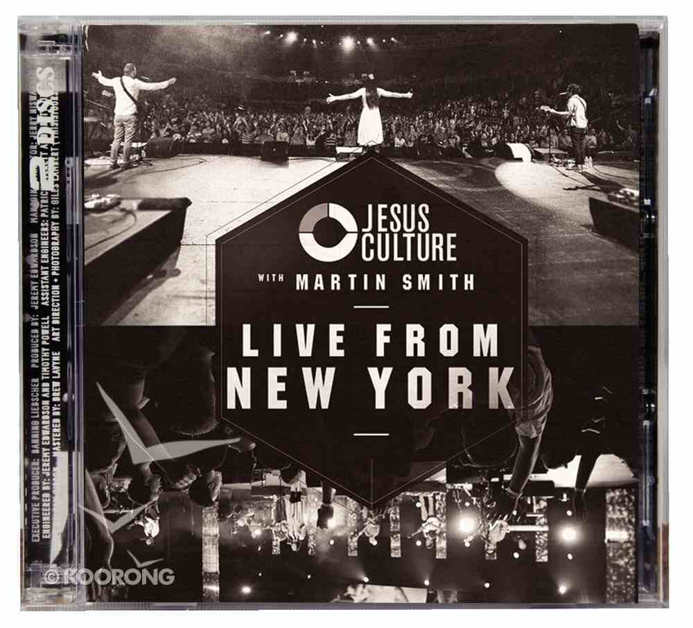 2012 Jesus Culture With Martin Smith: Live From New York (2 Cd) CD