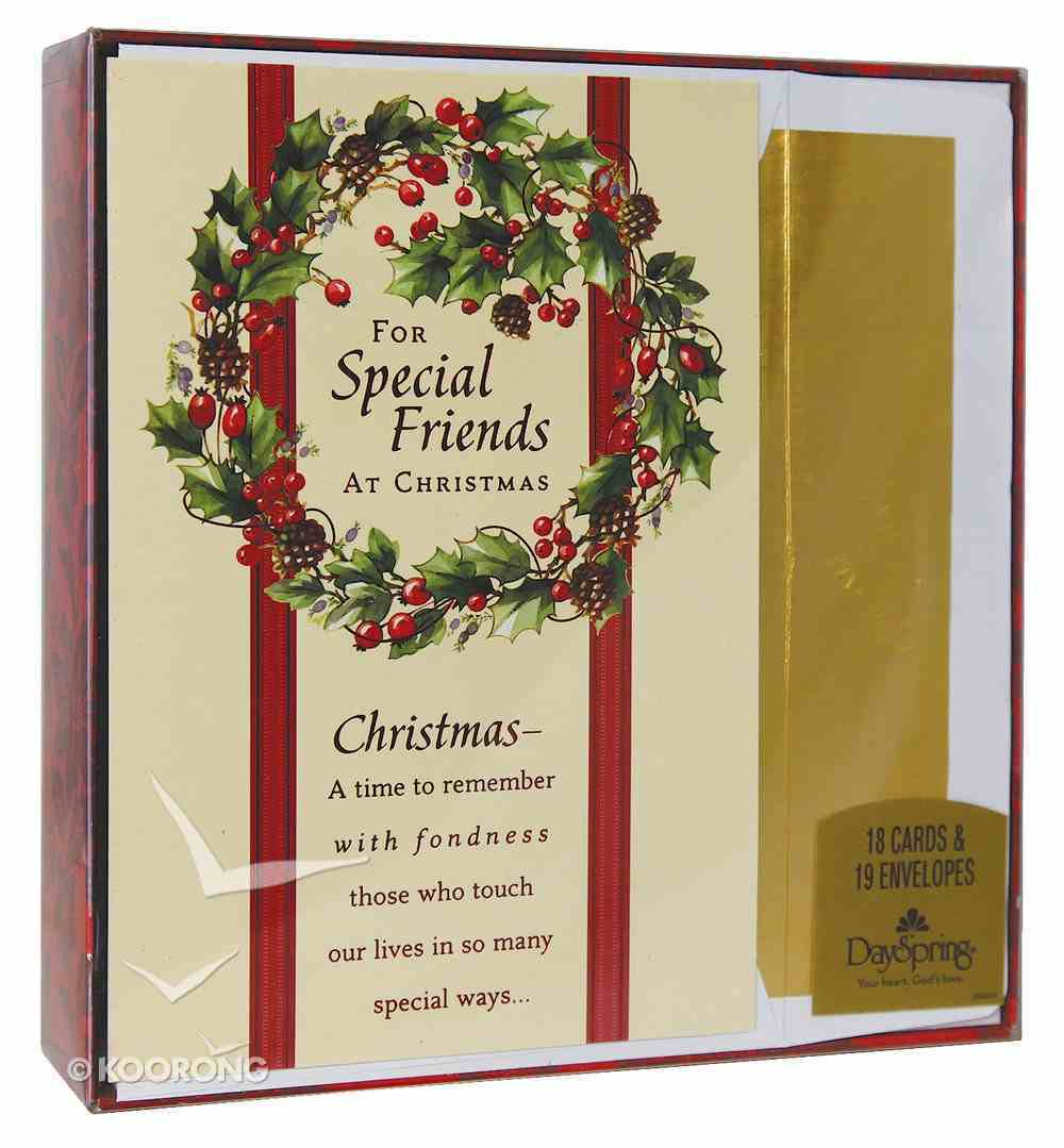 Christmas Boxed Cards: For Special Friends At Christmas Box