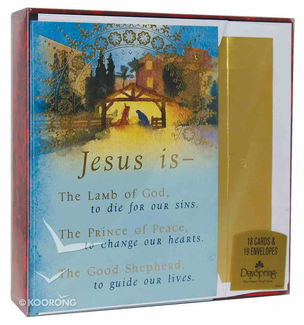 Christmas Boxed Cards: Jesus is the Lamb of God Box