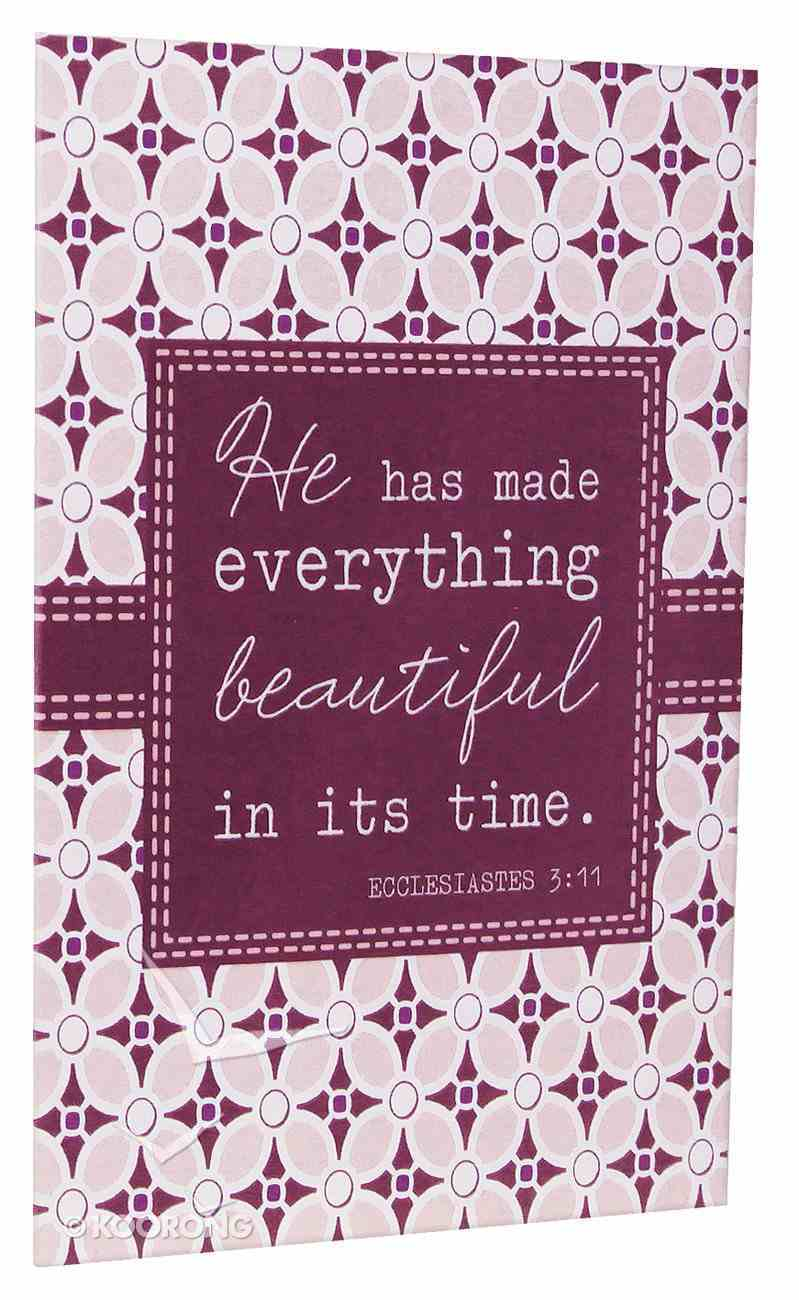 Everyday Notes: Everything Beautiful, Ecclesiastes 3:11 (Pack Of 10) Stationery