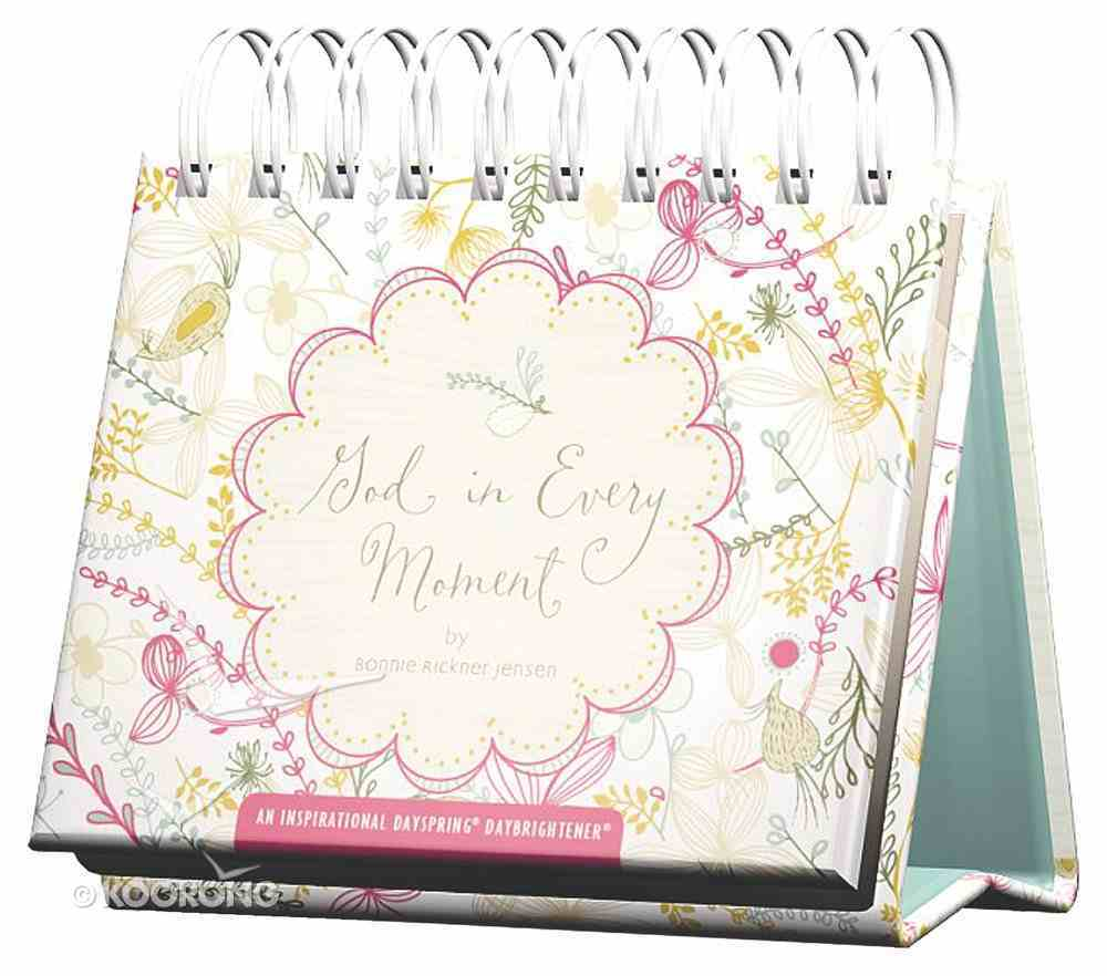 Daybrighteners: God in Every Moment (Padded Cover) Spiral