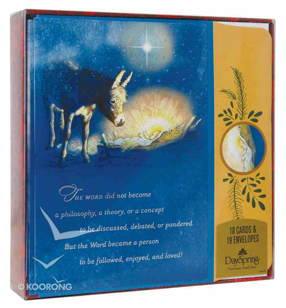 Christmas Boxed Cards: The Word (John 1:14) Cards