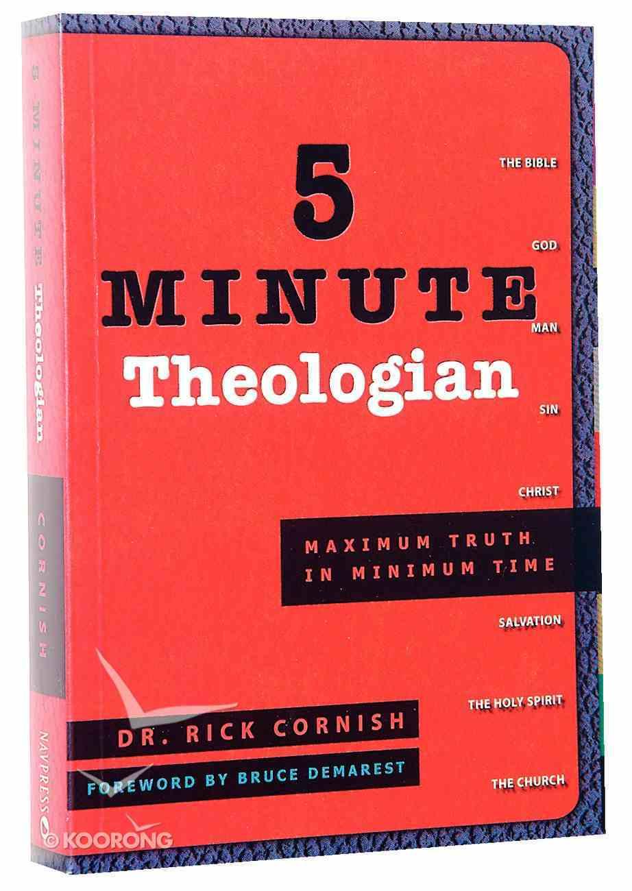 Maximum Truth in Minimum Time (5 Minute Series) Paperback