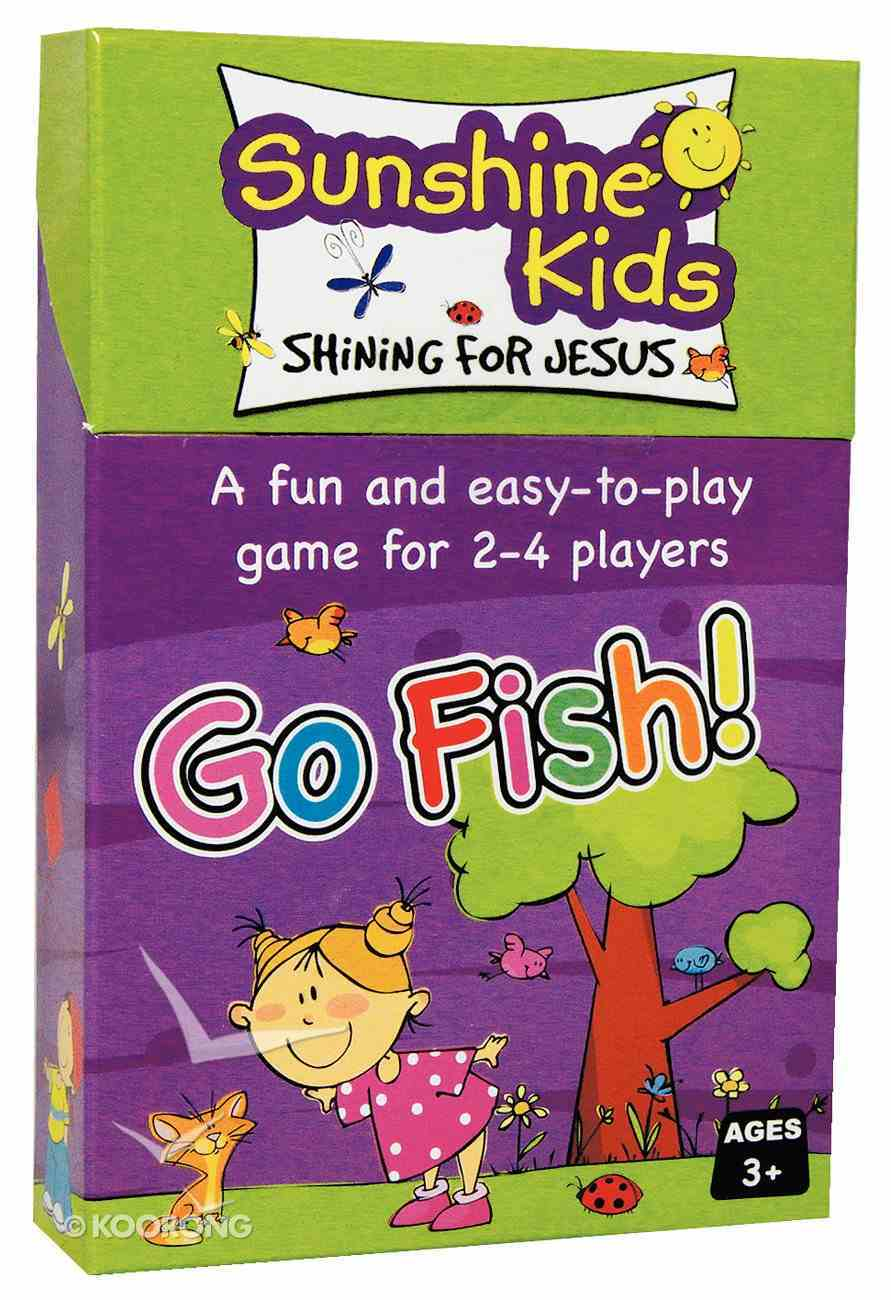 Card Games For Kids: Sunshine Kids Go Fish (56 Playing Cards) Game