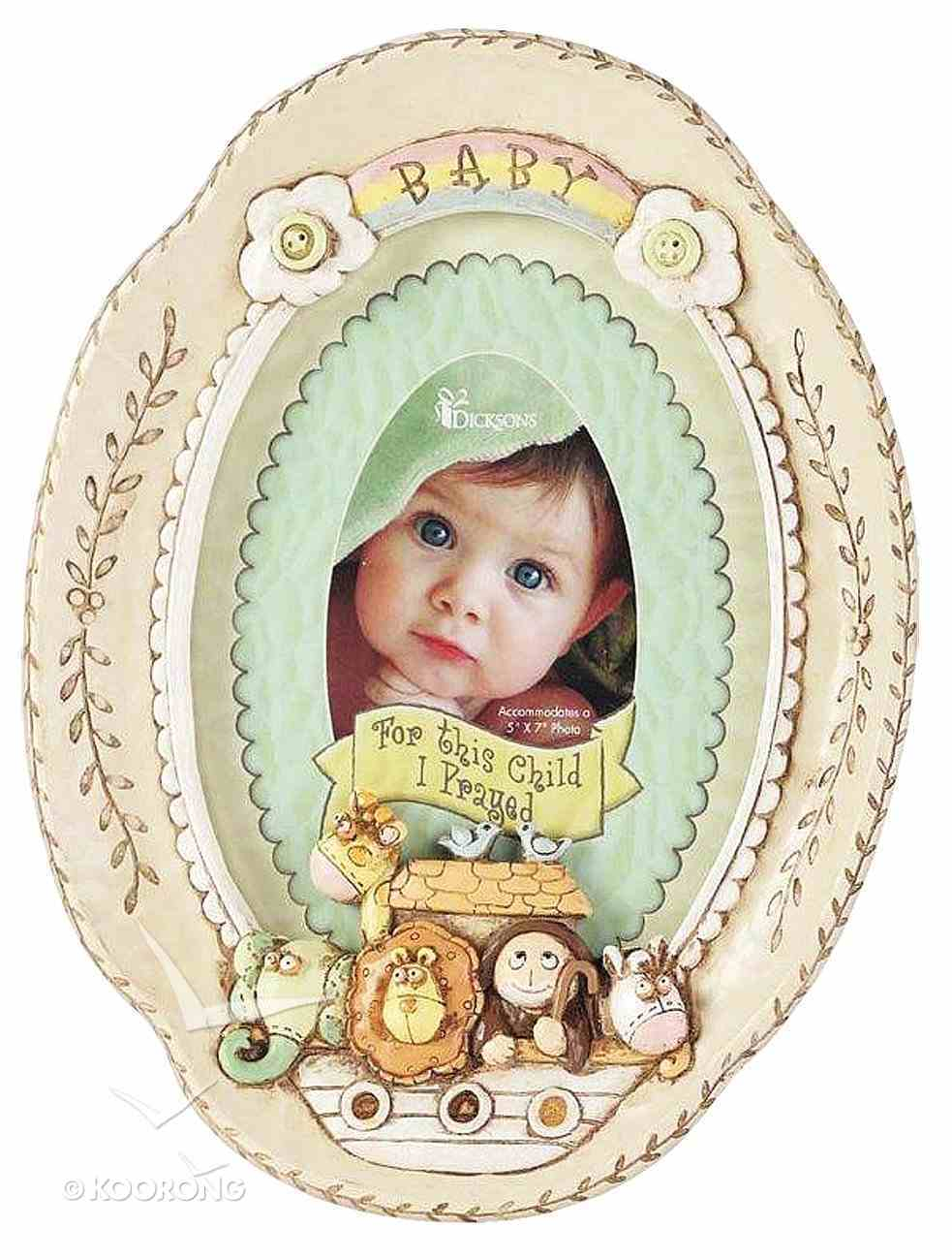 Noah's Ark: Baby Photo Frame General Gift