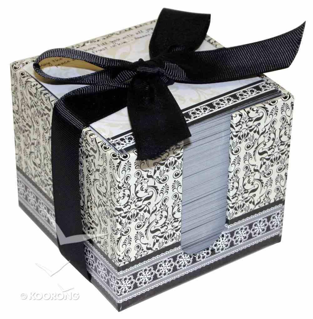 Shabby Chic Note Cube Stationery