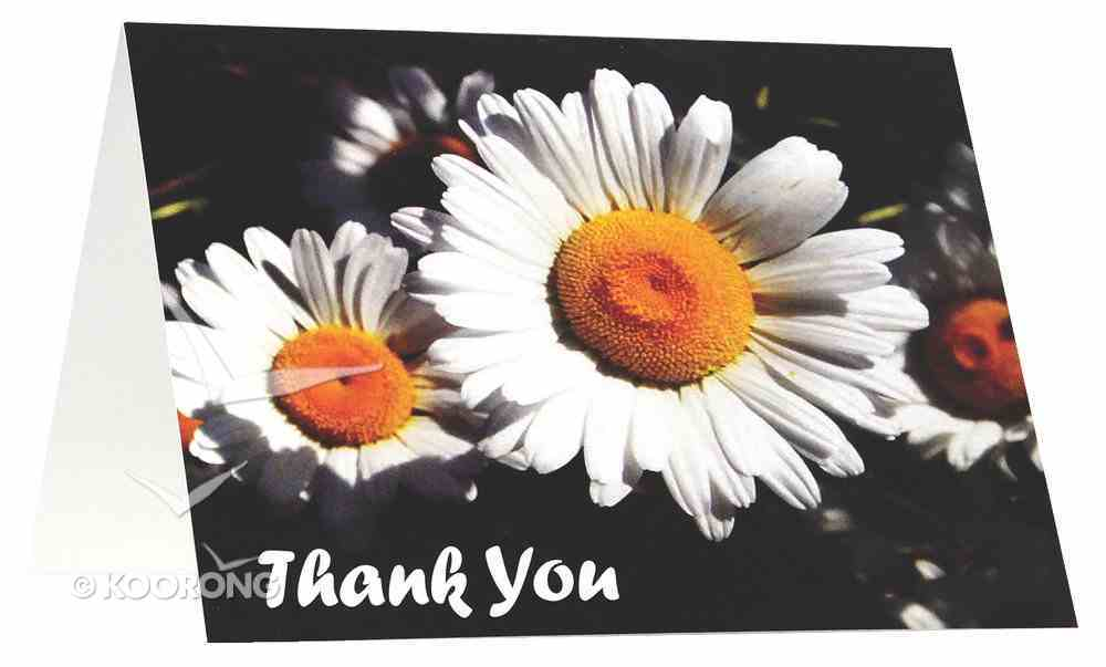 National Day of Thanks Card Pack H: Daisy Cards