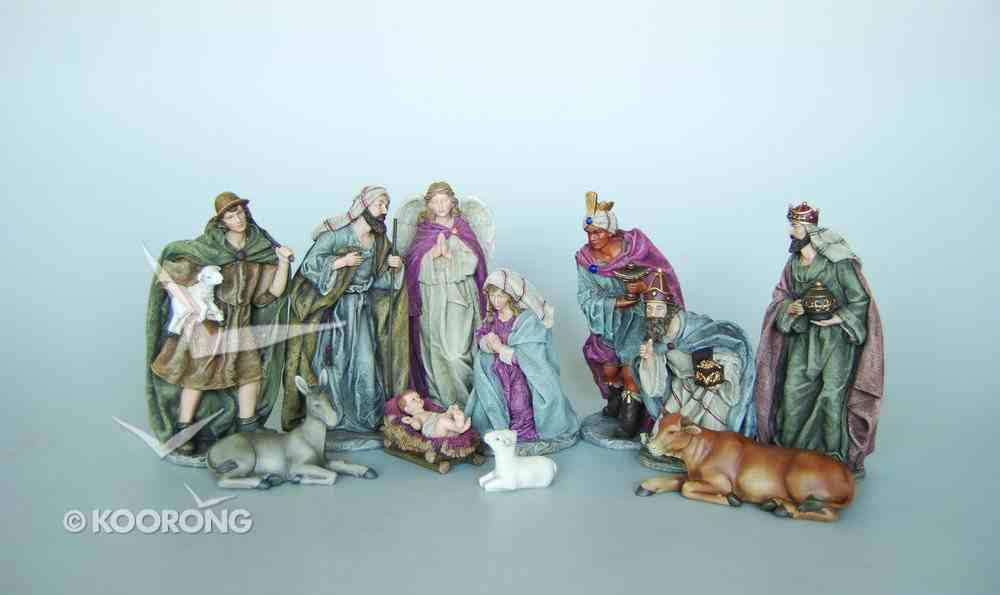 Nativity Set 11 Pieces 20.25Cm Tallest Piece Homeware