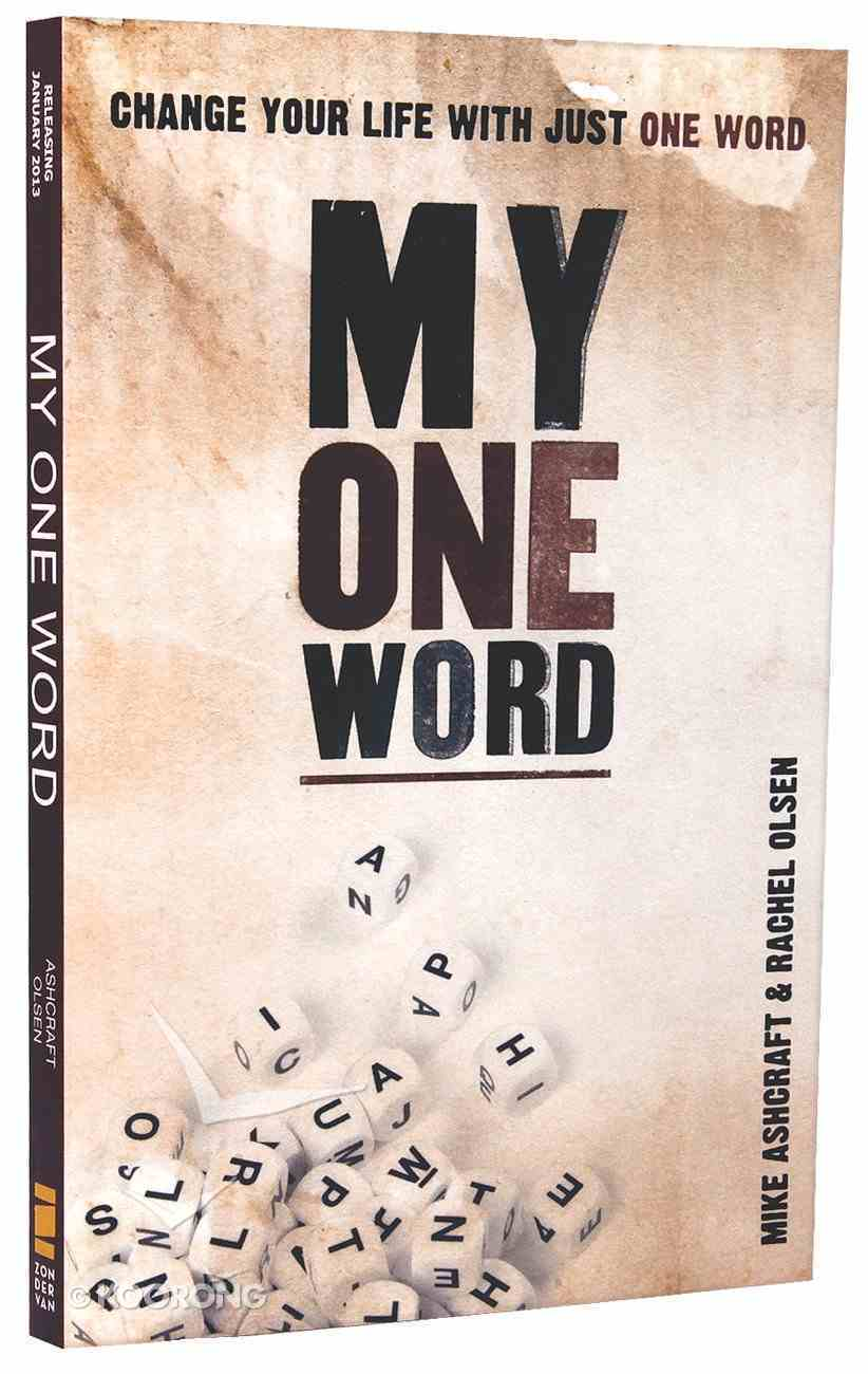 My One Word Paperback
