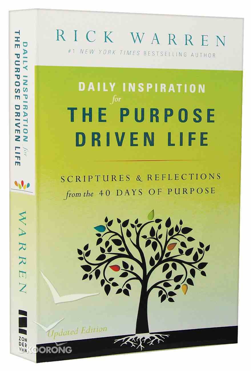 Daily Inspiration For the Purpose Driven Life Mass Market