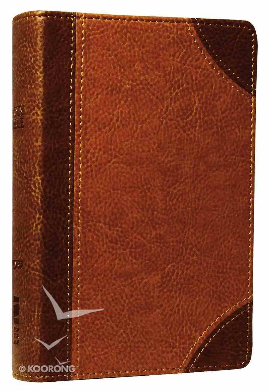 NIV Pocket Bible Brown Duo-Tone Imitation Leather