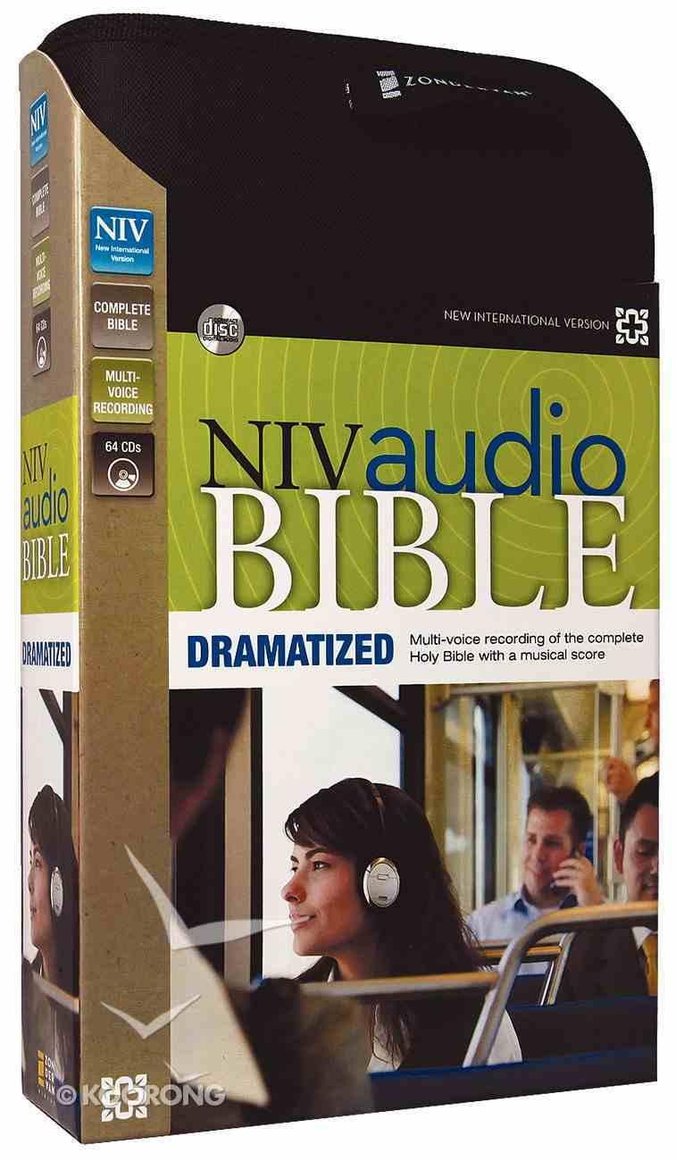 NIV Audio Bible Dramatized (64 Audio Cds Unabridged 76 Hrs) CD