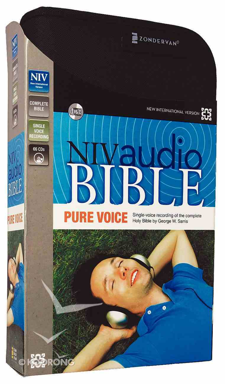 NIV Pure Voice Audio Bible (Unabridged 66 Cds 78 Hrs) CD