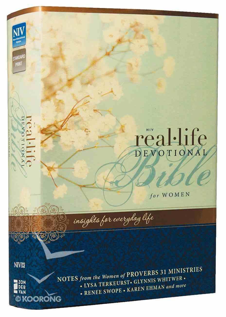 NIV Real-Life Devotional Bible For Women (Black Letter Edition) Hardback