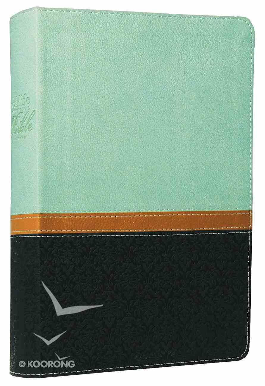NIV Real-Life Devotional Bible For Women Sea Glass/Deep Sea Imitation Leather