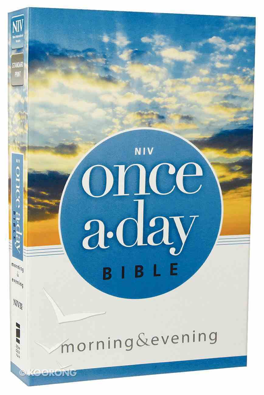 NIV Once-A-Day Morning & Evening Bible Paperback
