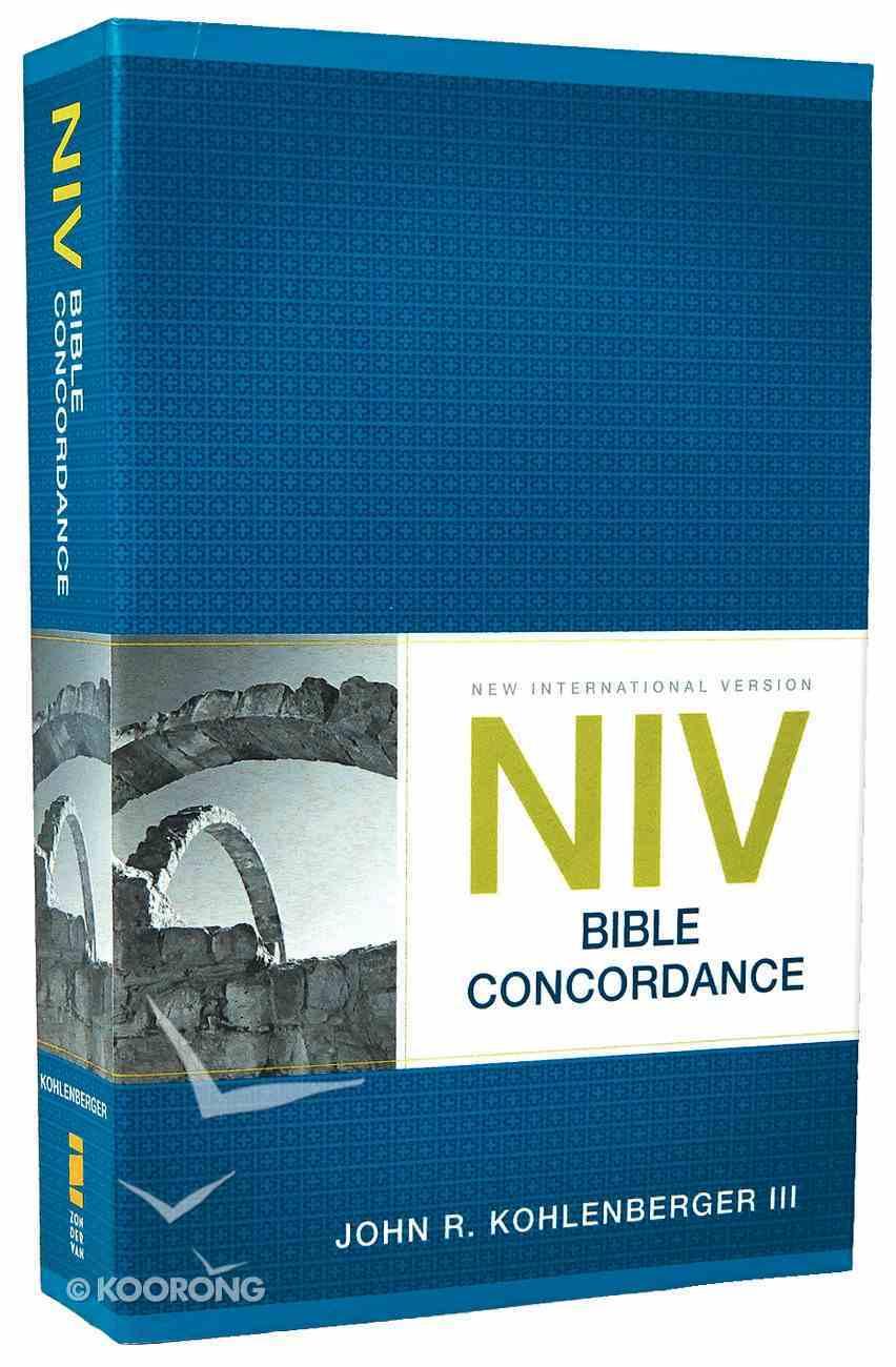 NIV Bible Concordance (2011) Paperback