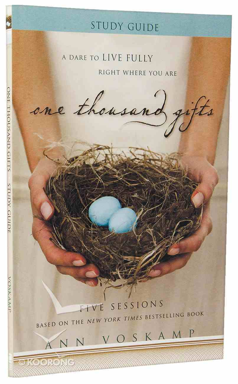One Thousand Gifts (Study Guide) Paperback