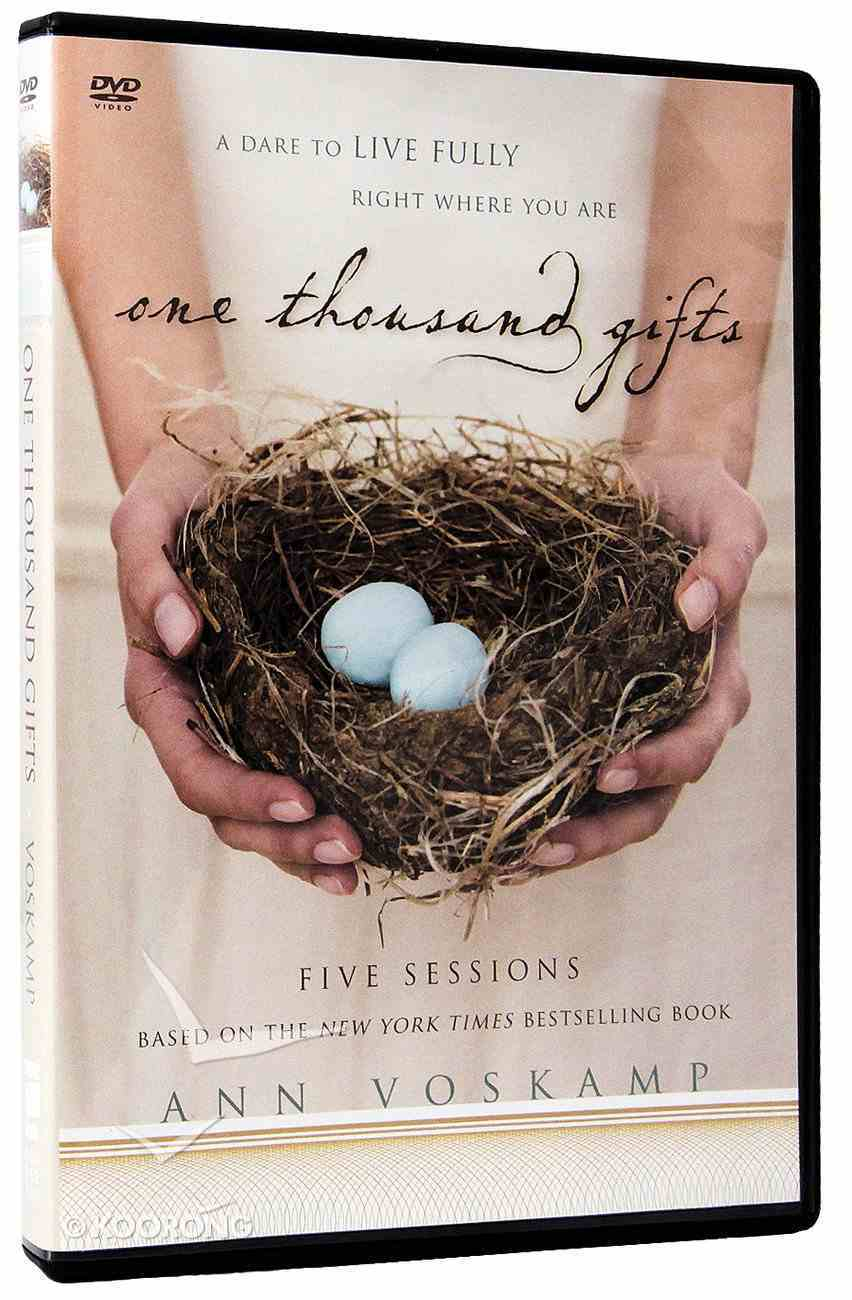 One Thousand Gifts (Dvd Study) DVD