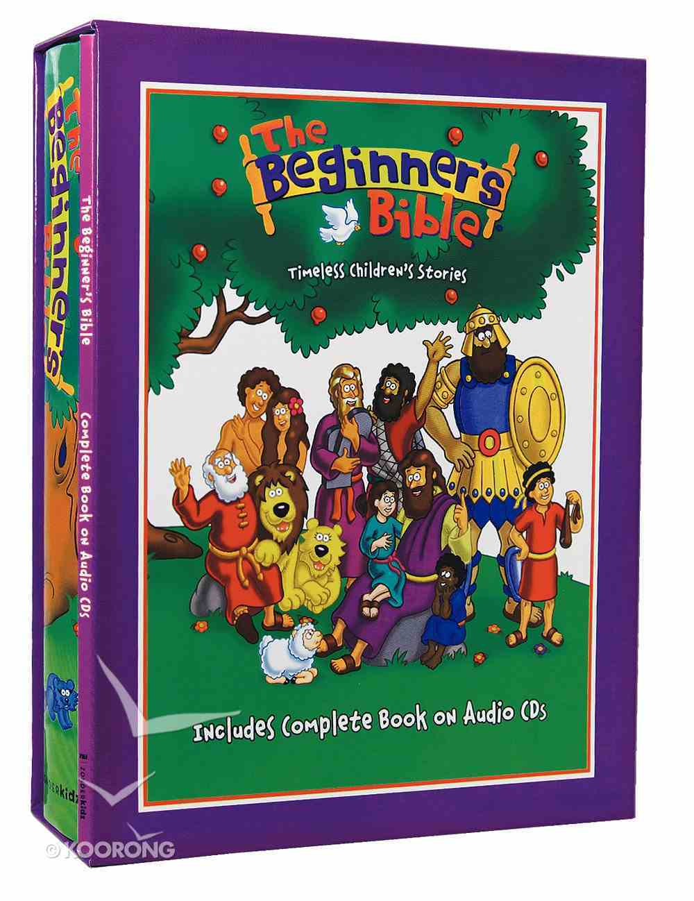 The Beginners Bible (Includes Complete Book on Audio CDS) (Beginner's Bible Series) Pack